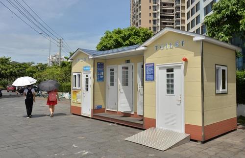 长沙移动厕所租赁剖析环保移动厕所广泛运用的原因